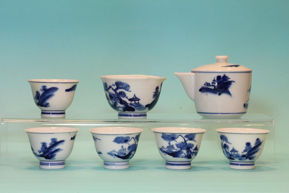榮山茶具組(七件)