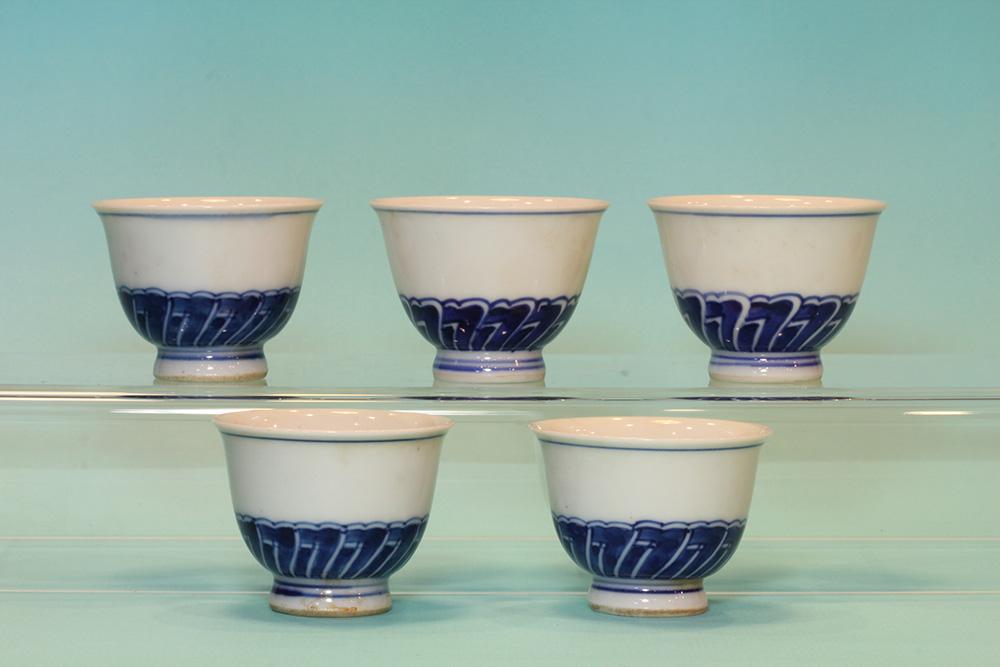 竹泉茶杯組(五入)(盒)