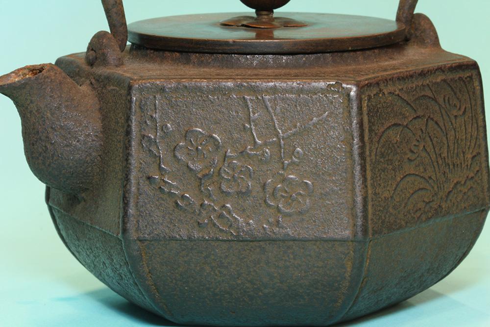 六角小鐵壺