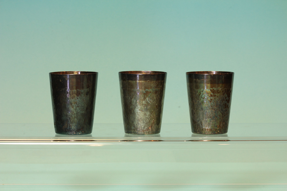 純銀酒杯(三入)