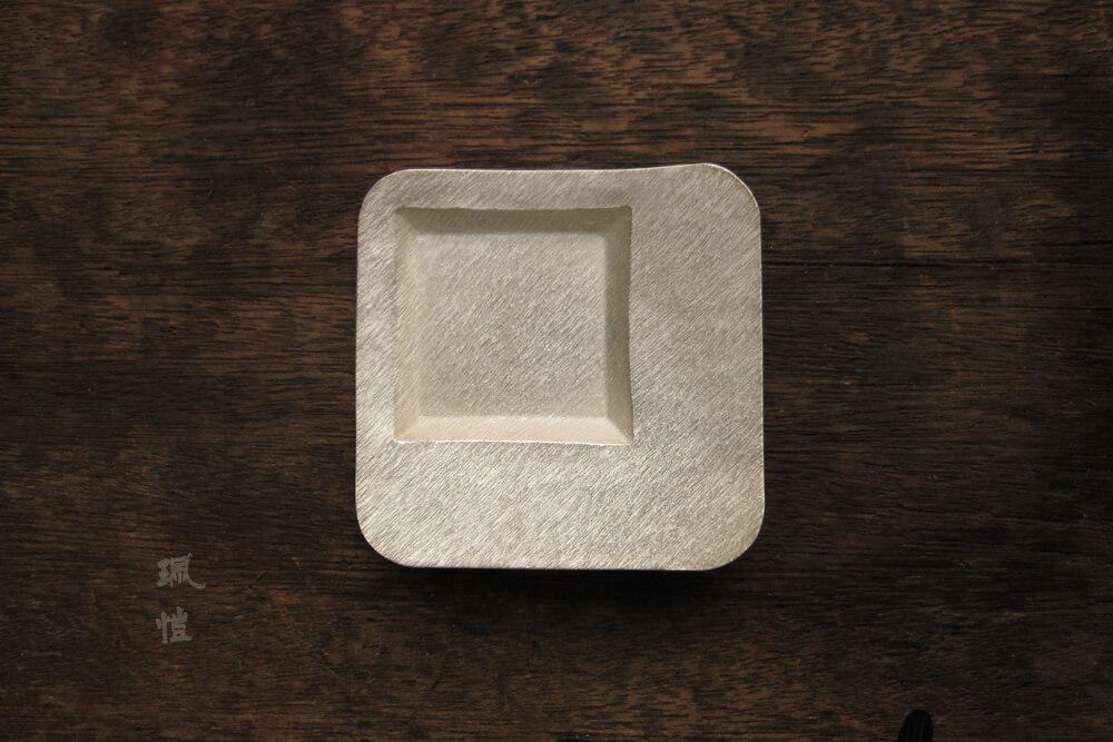方形斜紋杯托 - 珮愷