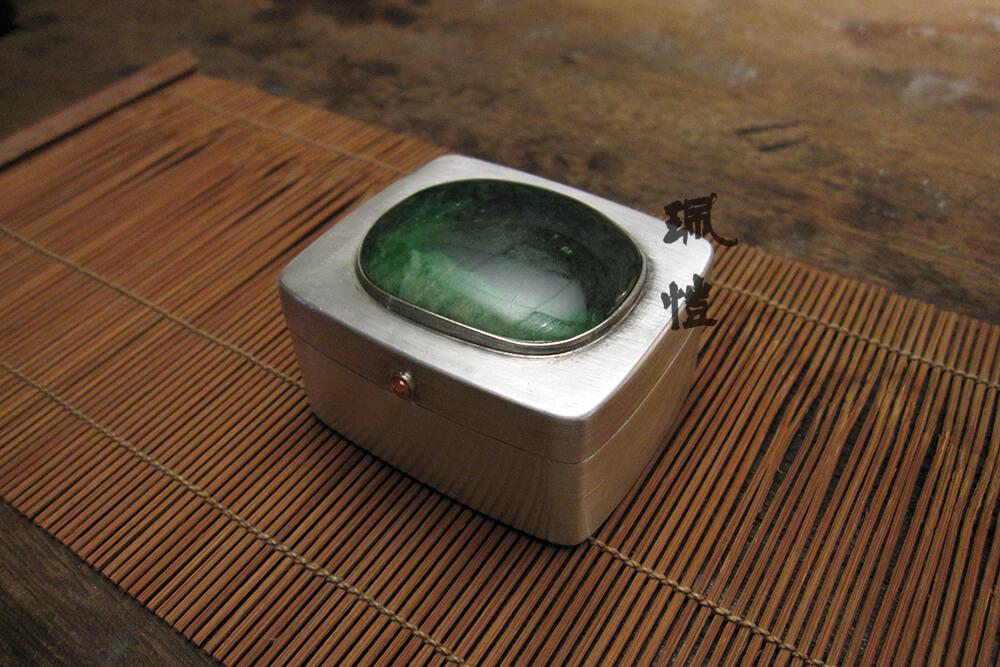 硬玉銀香盒A 02 - 珮愷
