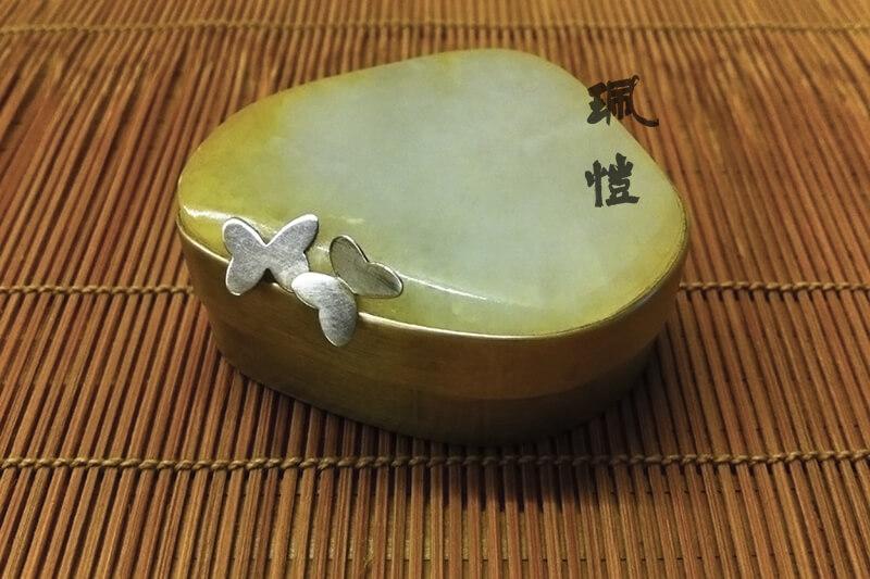 蝴蝶銀香盒 01 - 珮愷