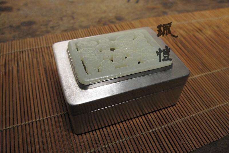 軟玉銀香盒A 02 - 珮愷