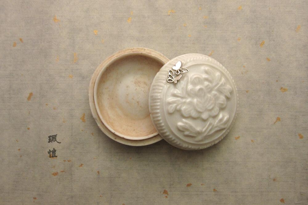 德化白瓷印泥盒01 - 珮愷