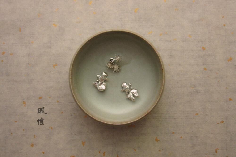 金魚陶瓷碗香插02 - 珮愷