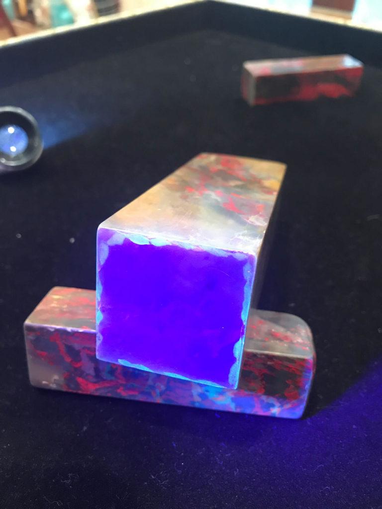 假雞血石-貼皮紫外線-(5)