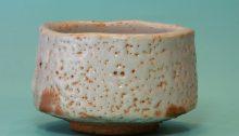 白色志野燒茶碗