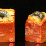 巧色芙蓉石松鼠紐